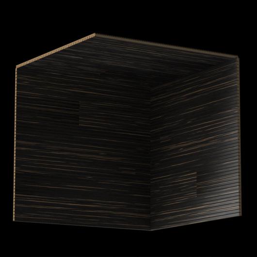 Акустическая панель Perfect-Acoustics Octa 3 мм без перфорации шпон Эбони Ammara 10.42 Ammara Ebony стандарт - изображение 3 - интернет-магазин tricolor.com.ua