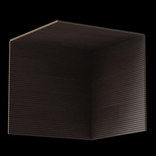 Акустическая панель Perfect-Acoustics Octa 3 мм без перфорации шпон Венге платина темная стандарт - изображение 3 - интернет-магазин tricolor.com.ua