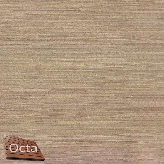 Акустическая панель Perfect-Acoustics Octa 3 мм без перфорации шпон Венге белый 11.12 Light Grey Lati стандарт - интернет-магазин tricolor.com.ua