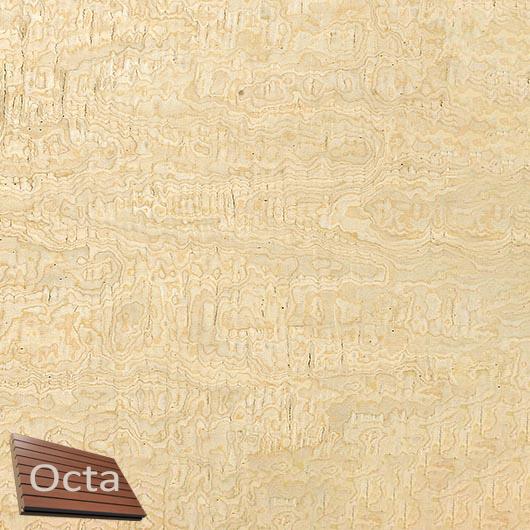 Акустическая панель Perfect-Acoustics Octa 3 мм без перфорации шпон Клен фризе 10.03 Erable Frise стандарт - интернет-магазин tricolor.com.ua