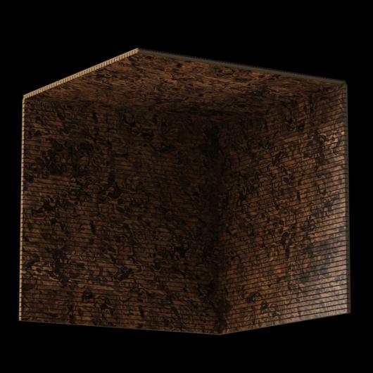 Акустическая панель Perfect-Acoustics Octa 3 мм без перфорации шпон Корень ореха калифорнийского 10.06 стандарт - изображение 3 - интернет-магазин tricolor.com.ua