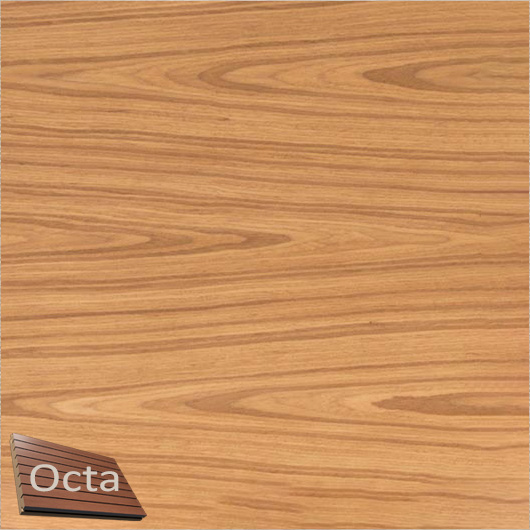 Акустическая панель Perfect-Acoustics Octa 3 мм без перфорации шпон Дуб тангентальный golden 20.77 негорючая - интернет-магазин tricolor.com.ua