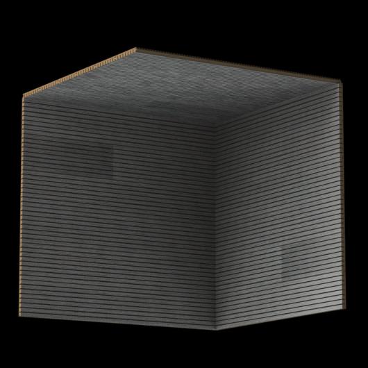 Акустическая панель Perfect-Acoustics Octa 3 мм без перфорации шпон Дуб Balanced Gray Oak 10.66 негорючая - изображение 3 - интернет-магазин tricolor.com.ua