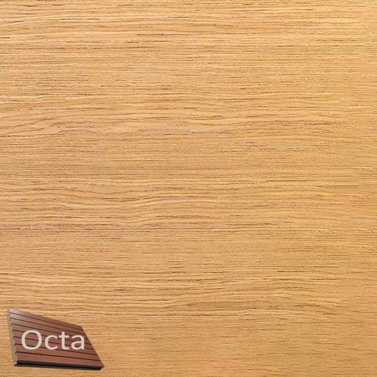 Акустическая панель Perfect-Acoustics Octa 3 мм без перфорации шпон Дуб 10.84 Slavony Oak негорючая - интернет-магазин tricolor.com.ua