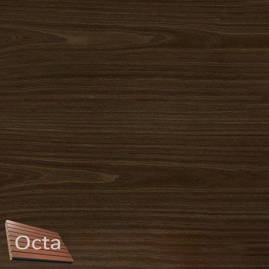 Акустическая панель Perfect-Acoustics Octa 3 мм без перфорации шпон Дуб Thermo тангентальный 10.92 негорючая - интернет-магазин tricolor.com.ua