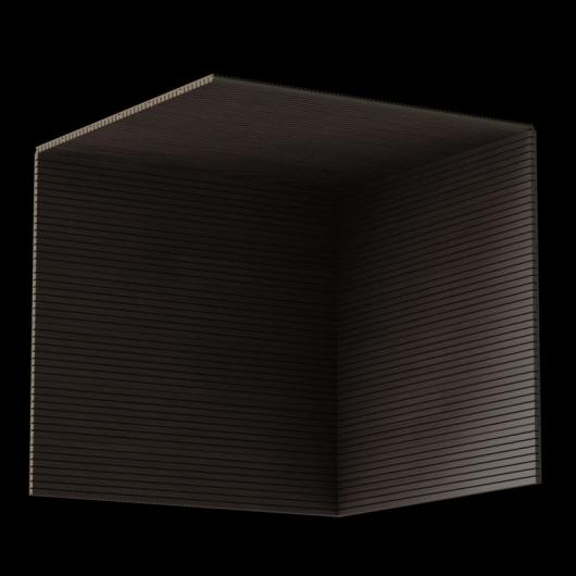 Акустическая панель Perfect-Acoustics Octa 3 мм без перфорации шпон Дуб 10.97 Deep Oak негорючая - изображение 3 - интернет-магазин tricolor.com.ua