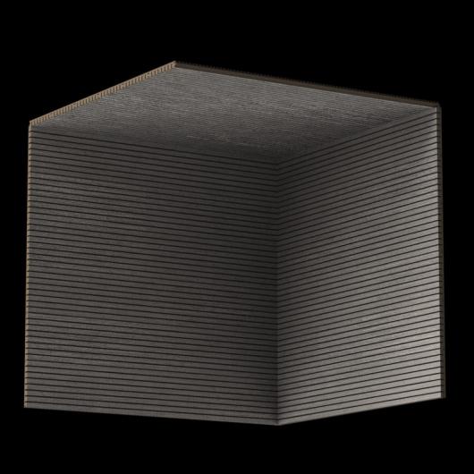 Акустическая панель Perfect-Acoustics Octa 3 мм без перфорации шпон Дуб 11.02 Platinum Oak негорючая - изображение 3 - интернет-магазин tricolor.com.ua