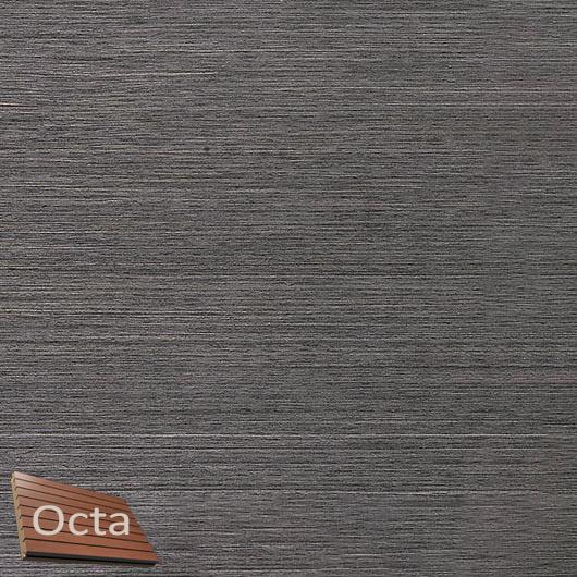 Акустическая панель Perfect-Acoustics Octa 3 мм без перфорации шпон Дуб 11.04 Dark Grey Oak негорючая - интернет-магазин tricolor.com.ua