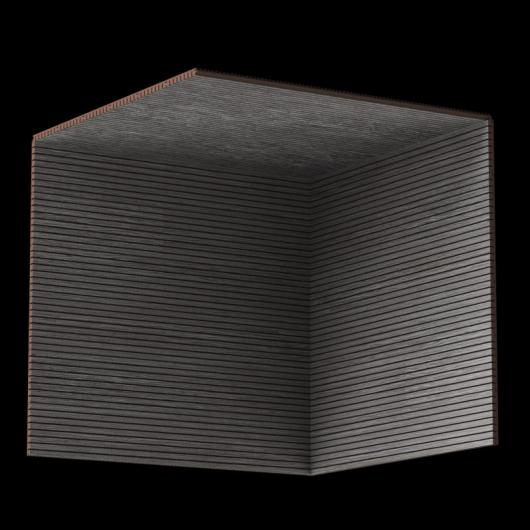 Акустическая панель Perfect-Acoustics Octa 3 мм без перфорации шпон Дуб 11.05 Titanium Oak негорючая - изображение 3 - интернет-магазин tricolor.com.ua