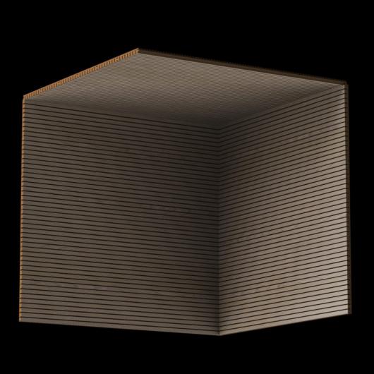 Акустическая панель Perfect-Acoustics Octa 3 мм без перфорации шпон Дуб песочный Xilo тангентальный 18.51 негорючая - изображение 3 - интернет-магазин tricolor.com.ua