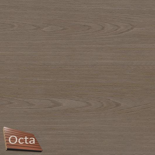 Акустическая панель Perfect-Acoustics Octa 3 мм без перфорации шпон Дуб песочный Xilo тангентальный 18.51 негорючая - интернет-магазин tricolor.com.ua
