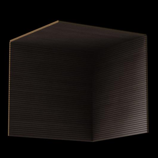 Акустическая панель Perfect-Acoustics Octa 3 мм без перфорации шпон Дуб серый Xilo полурадиальный 18.23 негорючая - изображение 3 - интернет-магазин tricolor.com.ua