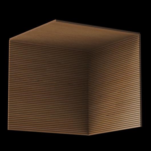 Акустическая панель Perfect-Acoustics Octa 3 мм без перфорации шпон Тик 10.73 негорючая - изображение 3 - интернет-магазин tricolor.com.ua