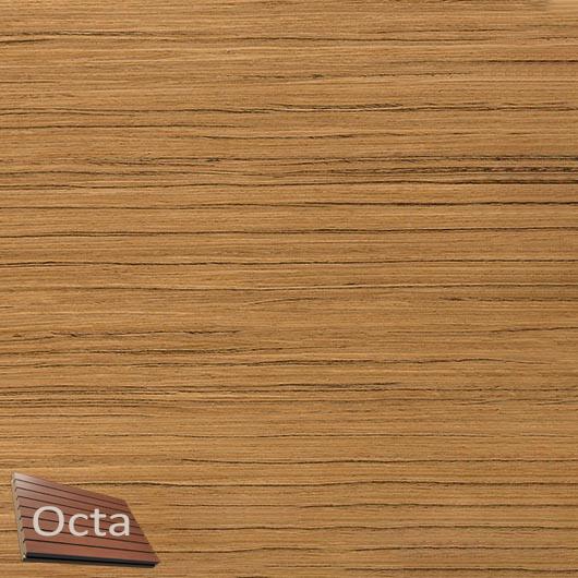 Акустическая панель Perfect-Acoustics Octa 3 мм без перфорации шпон Тик 10.74 негорючая - интернет-магазин tricolor.com.ua
