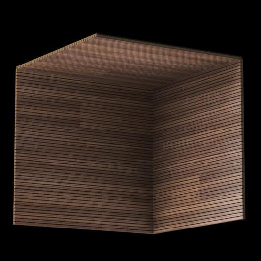 Акустическая панель Perfect-Acoustics Octa 3 мм без перфорации шпон Орех Американский радиальный 20.14 негорючая - изображение 3 - интернет-магазин tricolor.com.ua