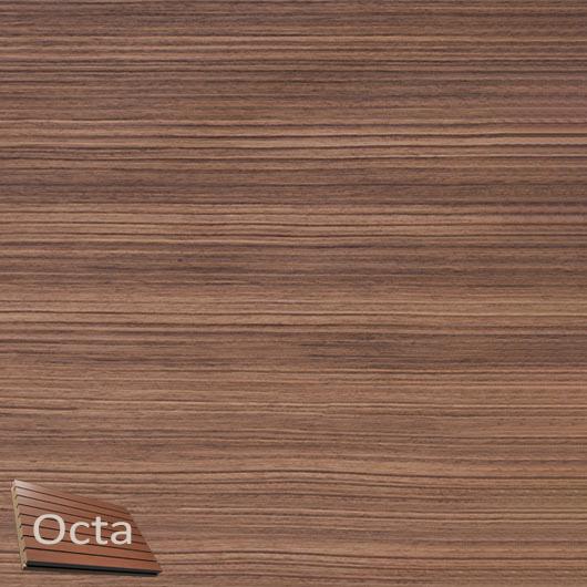 Акустическая панель Perfect-Acoustics Octa 3 мм без перфорации шпон Орех Американский радиальный 20.14 негорючая - интернет-магазин tricolor.com.ua