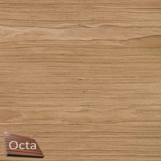 Акустическая панель Perfect-Acoustics Octa 3 мм без перфорации шпон Орех Европейский тангентальный TBF негорючая - интернет-магазин tricolor.com.ua