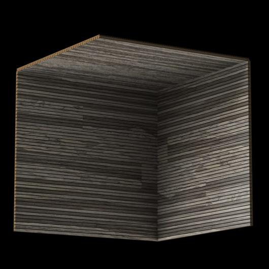 Акустическая панель Perfect-Acoustics Octa 3 мм без перфорации шпон Орех Wear American Walnut негорючая - изображение 3 - интернет-магазин tricolor.com.ua