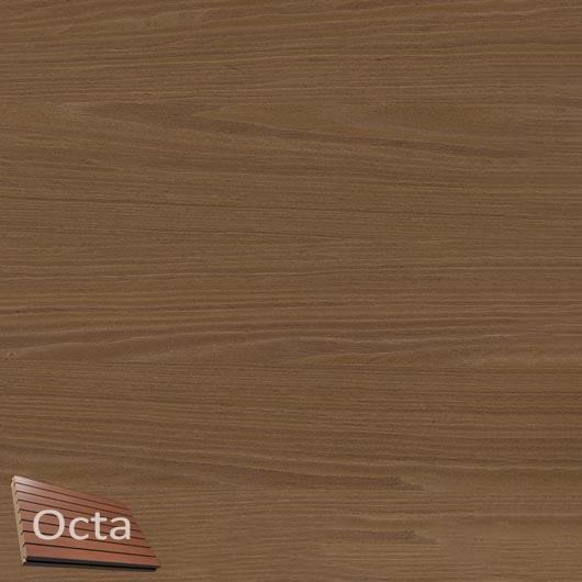 Акустическая панель Perfect-Acoustics Octa 3 мм без перфорации шпон Орех 10.95 Planked Walnut негорючая - интернет-магазин tricolor.com.ua