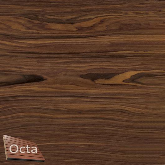 Акустическая панель Perfect-Acoustics Octa 3 мм без перфорации шпон Палисандр 874 2P 87400P негорючая - интернет-магазин tricolor.com.ua