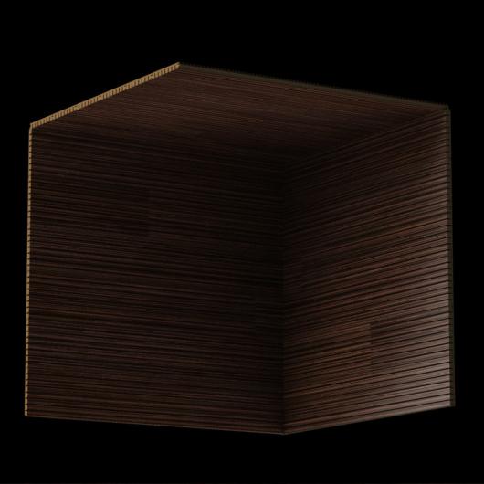 Акустическая панель Perfect-Acoustics Octa 3 мм без перфорации шпон Эбони мелкорадиальный 20.43 негорючая - изображение 3 - интернет-магазин tricolor.com.ua