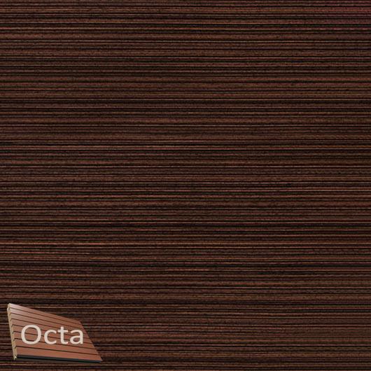 Акустическая панель Perfect-Acoustics Octa 3 мм без перфорации шпон Эбони мелкорадиальный 20.43 негорючая - интернет-магазин tricolor.com.ua