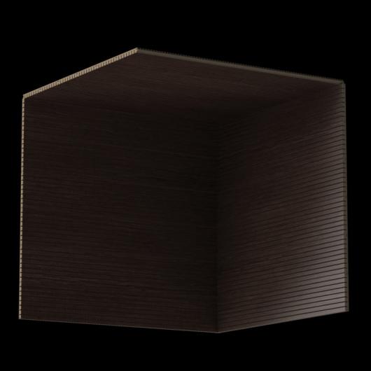 Акустическая панель Perfect-Acoustics Octa 3 мм без перфорации шпон Венге крупнорадиальный Dog 6 негорючая - изображение 3 - интернет-магазин tricolor.com.ua