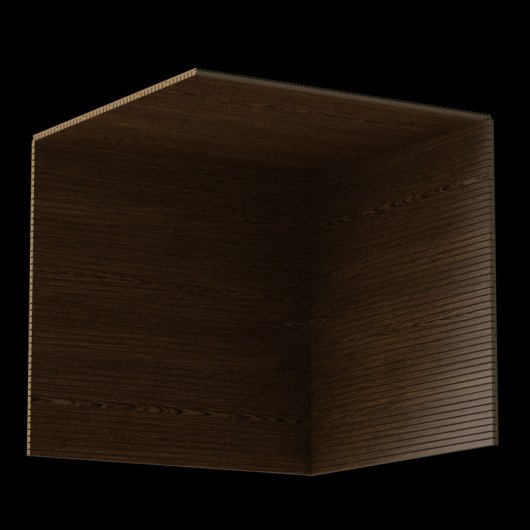 Акустическая панель Perfect-Acoustics Octa 3 мм без перфорации шпон Венге тангентальный ST негорючая - изображение 3 - интернет-магазин tricolor.com.ua