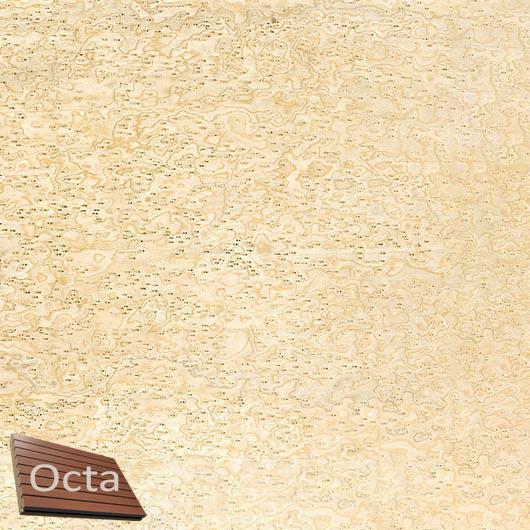Акустическая панель Perfect-Acoustics Octa 3 мм без перфорации шпон Клен птичий глаз 10.02 негорючая - интернет-магазин tricolor.com.ua