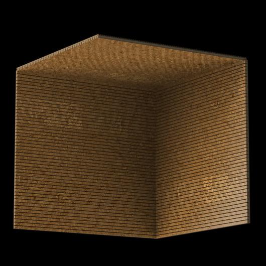 Акустическая панель Perfect-Acoustics Octa 3 мм без перфорации шпон Корень ореха 10.07 Walnut Burl негорючая - изображение 3 - интернет-магазин tricolor.com.ua