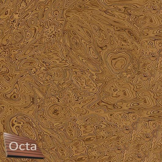 Акустическая панель Perfect-Acoustics Octa 3 мм без перфорации шпон Корень ореха 10.07 Walnut Burl негорючая - интернет-магазин tricolor.com.ua