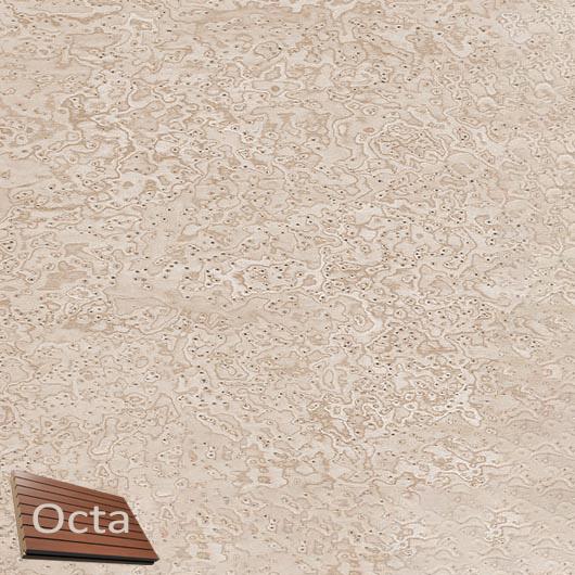 Акустическая панель Perfect-Acoustics Octa 3 мм без перфорации шпон Клен птичий глаз 11.07 Sand Erable негорючая - интернет-магазин tricolor.com.ua