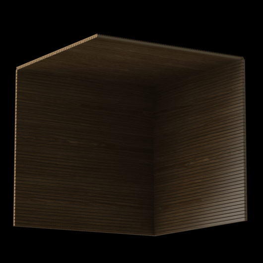 Акустическая панель Perfect-Acoustics Octa 3 мм с перфорацией шпон Дуб Thermo тангентальный 10.92 стандарт - изображение 3 - интернет-магазин tricolor.com.ua