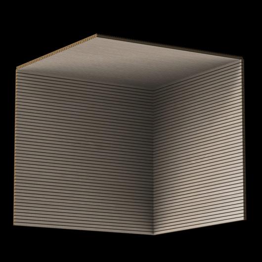 Акустическая панель Perfect-Acoustics Octa 3 мм с перфорацией шпон Дуб белый Xilo тангентальный 18.50 стандарт - изображение 3 - интернет-магазин tricolor.com.ua