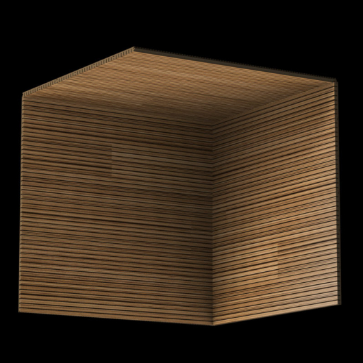 Акустическая панель Perfect-Acoustics Octa 3 мм с перфорацией шпон Зебрано мелкорадиальный стандарт - изображение 3 - интернет-магазин tricolor.com.ua