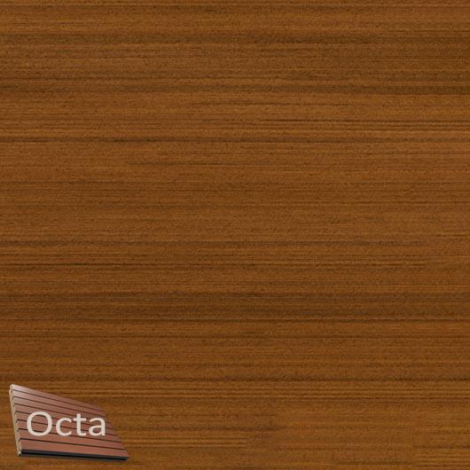 Акустическая панель Perfect-Acoustics Octa 3 мм с перфорацией шпон Тик темный 20.76 стандарт - интернет-магазин tricolor.com.ua