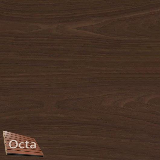 Акустическая панель Perfect-Acoustics Octa 3 мм с перфорацией шпон Орех Xilo тангентальный 10.11 стандарт - интернет-магазин tricolor.com.ua