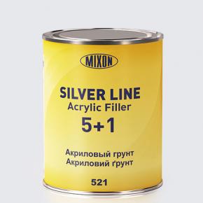 Акриловый грунт Silver Line Mixon 5+1 М-521 красный 2К А