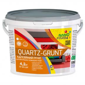 Адгезионная грунтовка универсальная Quartz-grunt Nanofarb - изображение 4 - интернет-магазин tricolor.com.ua