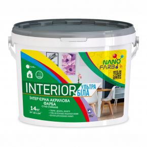Интерьерная акриловая краска сухое стирание Interior Nanofarb - изображение 3 - интернет-магазин tricolor.com.ua