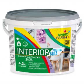 Интерьерная акриловая краска сухое стирание Interior Nanofarb - изображение 4 - интернет-магазин tricolor.com.ua