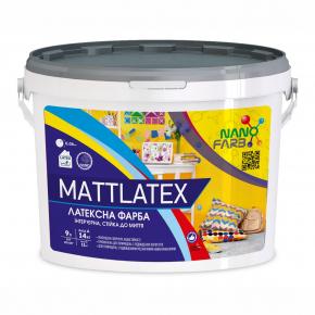 Интерьерная акриловая латексная краска моющая Mattlatex Nanofarb База C (под колеровку) - изображение 4 - интернет-магазин tricolor.com.ua