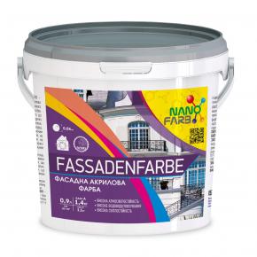 Акриловая фасадная краска Fassadenfarbe Nanofarb База C (под колеровку) - интернет-магазин tricolor.com.ua