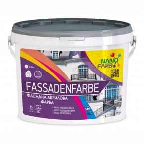 Акриловая фасадная краска Fassadenfarbe Nanofarb База C (под колеровку) - изображение 3 - интернет-магазин tricolor.com.ua