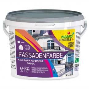 Акриловая фасадная краска Fassadenfarbe Nanofarb База C (под колеровку) - изображение 4 - интернет-магазин tricolor.com.ua