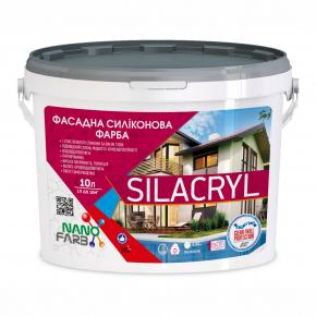 Фасадная силиконовая краска Silacryl Nanofarb База C (под колеровку) - изображение 4 - интернет-магазин tricolor.com.ua