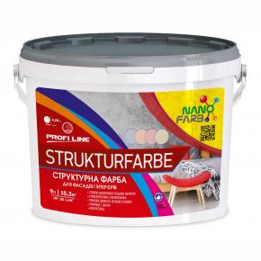 Структурная краска Strukturfarbe Profline Nanofarb База A - изображение 2 - интернет-магазин tricolor.com.ua
