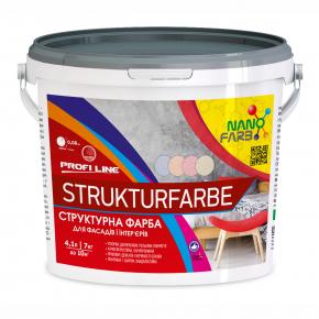 Структурная краска Strukturfarbe Profline Nanofarb База A - интернет-магазин tricolor.com.ua