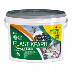 Резиновая краска Elastikfarbe Nanofarb База C (под колеровку) - изображение 3 - интернет-магазин tricolor.com.ua