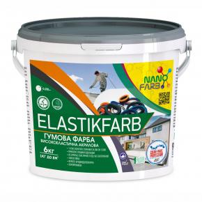 Резиновая краска Elastikfarbe Nanofarb База C (под колеровку) - изображение 2 - интернет-магазин tricolor.com.ua